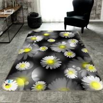3D Daisy Petals 205 Non Slip Rug Mat Quality Elegant Photo Carpet US Cobb - $93.49+
