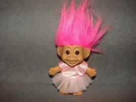"Russ Troll Doll: 5"" Dress Pink Hair - $10.00"