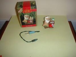 Hallmark 1990 Beary Short Nap Magic Lights Ornament - $10.39