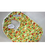 Sweet Bees Trucks, Cars, and Automobiles Theme Boys Cloth Baby Bib - $12.95