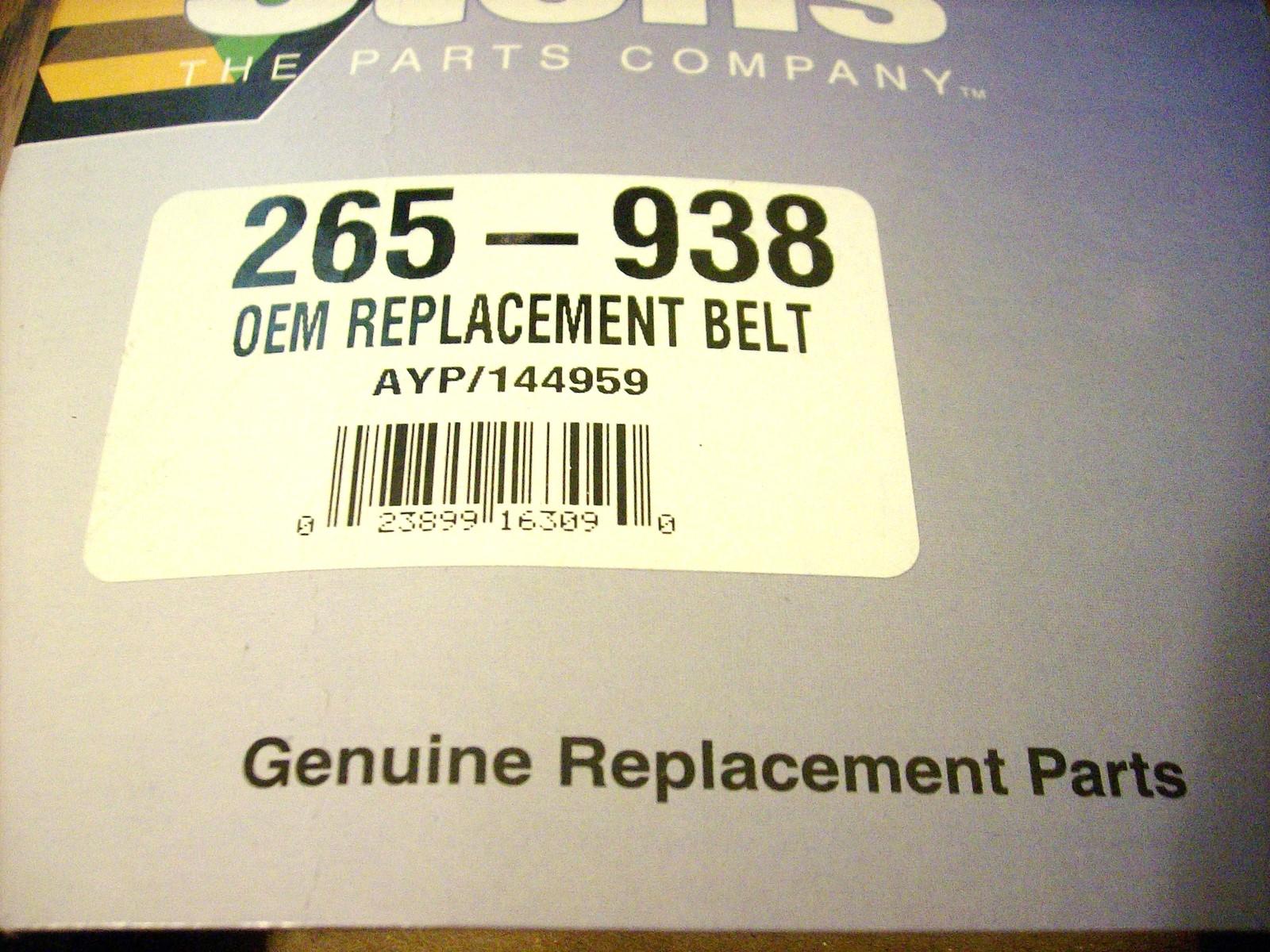 Deck Belt fits AYP, Craftsman, Husqvarna 144959, 24690, 531300766, 532144959