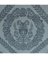 12sr Blue/Blue French NeoClassical Damask Water... - $386.10