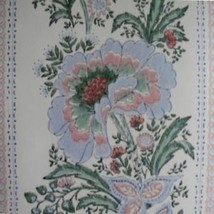 10sr Strahan Historic Archives late 1700s Historic Repro Floral Stripe Wallpaper - $341.55
