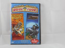 The Amazing Zorro/ Treasure Island (DVD, 2005) - $7.99