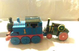 Thomas The Train and tank has a pull string attached to the tank behind.... - $9.49