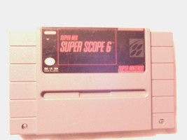 Super Scope 6  (Super NES, 1992) Super Nintendo - $4.99