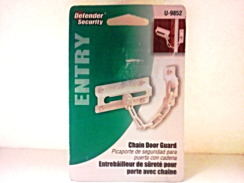 New Prime Line Products Defender Security Entry Chain Door
