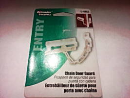 New Prime Line Products Defender Security Entry Chain Door Guard U-9852 White  - $4.00