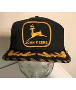 K Products Vintage John Deere Black Trucker Hat Egg Scrambled Mesh Foam ... - $137.91