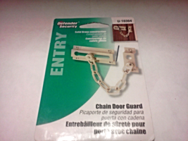 Prime Line Products Defender Security Entry Chain Door Guard U-10304 Solid Brass - $4.00