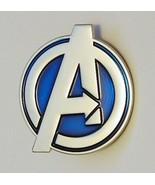 Marvel Comics The Avengers Large A Logo Metal Enamel Lapel Pin NEW UNUSED - $7.84
