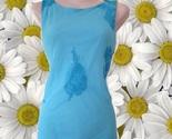 1990s vintage aqua blue sheer maxi dress size 10 large  - $59.99