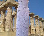 90s vintage pastel purple floral maxi dress size small medium 6 8  - $29.99