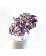 Amethyst Purple Swarovski Crystal Cha Cha Beade... - $68.00