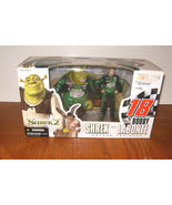 2004 Action McFarlane Shrek 2 Shrek and Bobby Labonte Deluxe 2 Pack NIB - $27.99