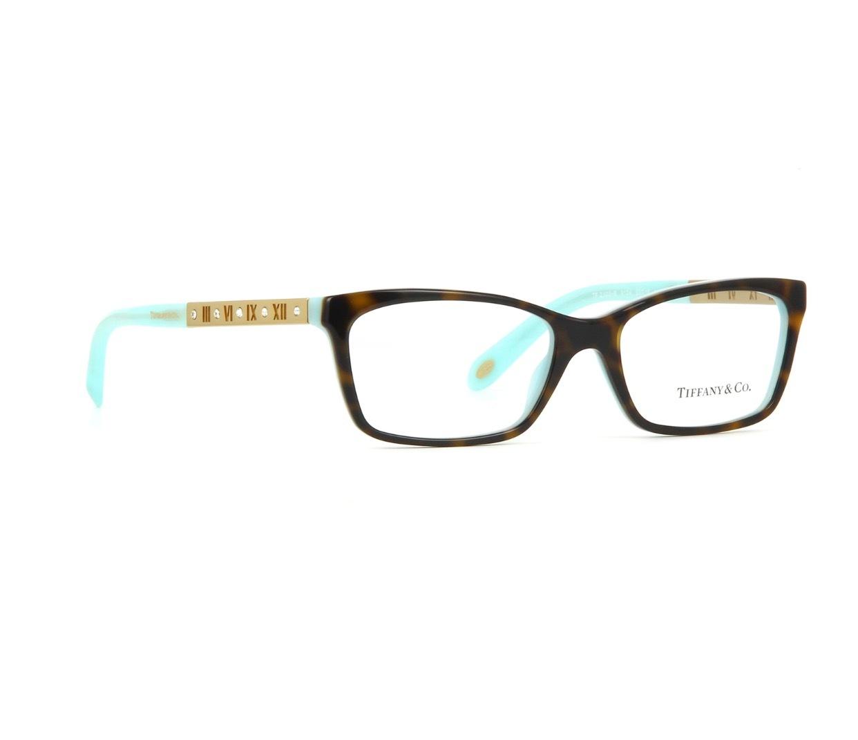 Tiffany Glasses Frames Blue : New Authentic Tiffany & Co. TF2103B 8134 Tortoise Blue ...