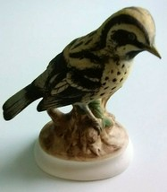 "Lefton China Hand Painted Vintage Ceramic Warbler 5"" Tall - $16.66"