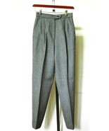 BARRY BRICKEN B/W Wool Career Slacks Pants Lined 2 - $9.79