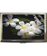 WHITE PLUMERIA FRANGIPANI FLOWER CIGARETTE CARD... - $16.99
