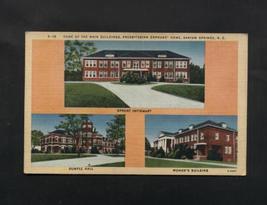 Vintage Postcard Linen 1946 Presbyterian Orphan Home Barium Springs NC - $7.99