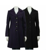 MICHAEL Michael Kors Women's Wool Walker Coat Navy Blue Peacoat BNWT - $200.86