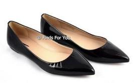 J Crew Viv Black Patent Flats Size 9.5 M Style 71801 $188 New - $120.37