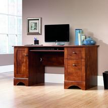 Sauder Computer Desk Table Brushed Maple Finish Office Furniture Worksta... - $286.48