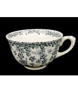 Vintage Porcelain Demitasse Coffee Cup, Blue Ivy Early English Joy Crown... - $11.71