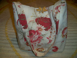 Vintage barkcloth purse waverly1 thumb200