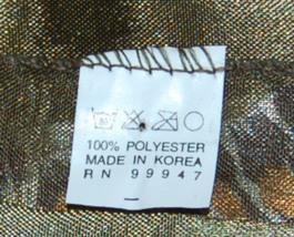 BVT Scarf 100 Percent Polyester Green Animal Prints Scarf image 2