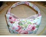 Vintage barkcloth purse floral1 thumb155 crop