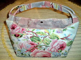 Vintage barkcloth purse floral4 thumb200