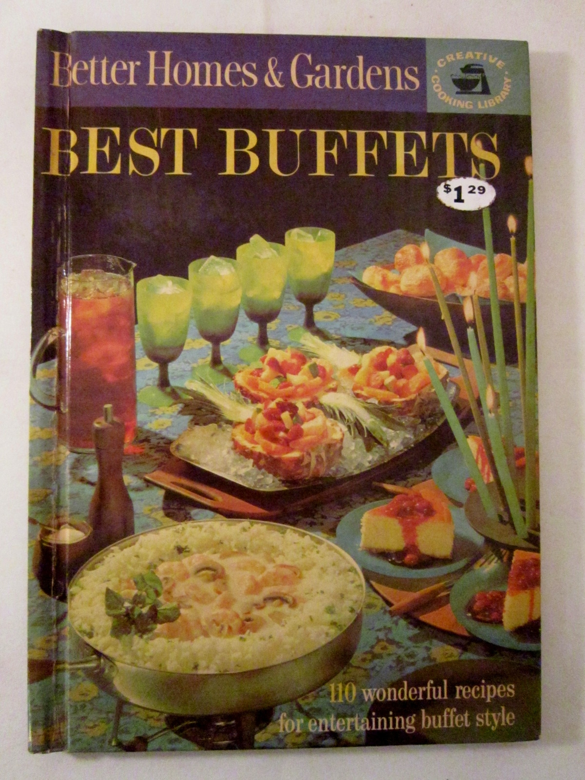 Hardcover Cookbook : Best buffets better homes and gardens hardcover