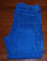 Mens Jeans 42x32 Carpenter Arizona Jean Co. Classic Fit Pockets Farmer Builder - $21.46