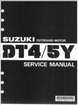 85-99 Suzuki DT4 DT5Y Two Stroke Outboard Motor Service Repair Manual CD - DT 4 - $12.00