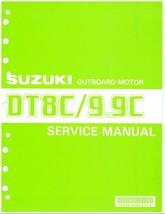 88-92 Suzuki DT8C DT9.9C 2-Stroke Outboard Motor Service Repair Manual CD - $12.00