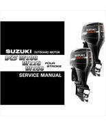 04-09 Suzuki DF200 DF225 DF250 Outboard Motor Service Manual CD - DF 200... - $12.00