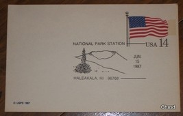 Haleakala, HI Postmarked Post Card - $8.00