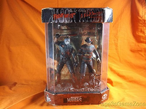 Primary image for McFarlane Toys Friday the 13th A Nightmare on Elm Street Movie Maniacs Series 7