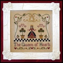 A Queen of Hearts cross stitch chart Classic Colorworks  - $8.00
