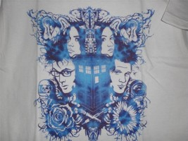"TeeFury Doctor Who YOUTH XLARGE ""Doctor Rorschach"" Tennant, Smith Shirt ... - $11.00"