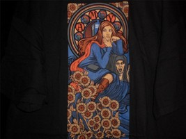 """TeeFury Doctor Who XXL """"Pond Nouveau"""" Amy Pond Tribute Shirt BLACK - $15.00"""