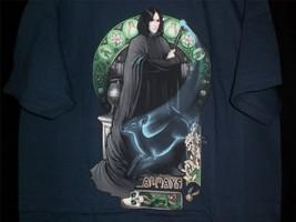 "TeeFury Harry Potter LARGE Shirt ""Always"" Professor Snape Tribute MeganL... - $13.00"