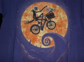 "TeeFury Nightmare YOUTH SMALL ""Shadow on the Moon"" Before Christmas E.T.... - $11.00"