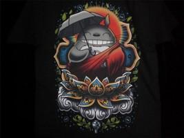 """TeeFury Ghibli YOUTH MEDIUM """"Enlightened Neighbor"""" Totoro Tribute Shirt ... - $11.00"""
