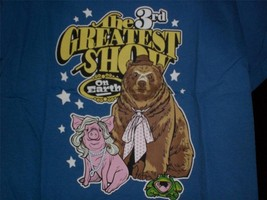 """TeeFury Muppets YOUTH LARGE """"3rd Greatest Show On Earth"""" Ringling Bros M... - $11.00"""