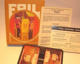 Foil Gamette 3M Company Card Word Game 1970 - $10.93