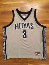 Authentic Nike 1995-96 Georgetown Hoyas Allen Iverson College Home Jersey 52 - $999.99