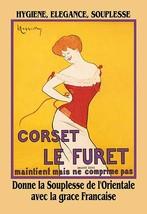 Corset le Furet by Leonetto Cappiello - Art Print - $19.99+