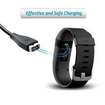 2 PACK USB Charging Cable Cord Charger For Fitbit Charge HR Bracelet Wri... - $26.00